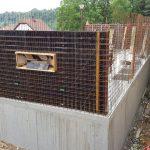 6. Montáž stěn nadzemního podlaží