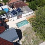 Dům - pohled z dronu
